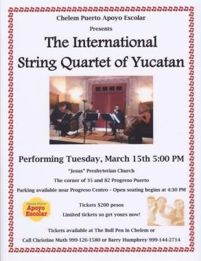 The-International-String-Quartet-of-Yucatan
